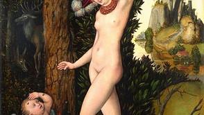 Lucas Cranach the Elder - Venus and Cupid as Honey Thieve