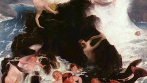Arnold Böcklin - Game of the Naiads