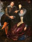 Peter Paul Rubens - Die Geißblattlaube  Öl auf Leinwand, 1609 / 1612, 178 x 136,5 cm, Alte Pinakothek, München