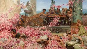 Sir Lawrence Alma-Tadema - The Roses of Heliolagabus