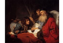 21 Isaak segnet Jakob