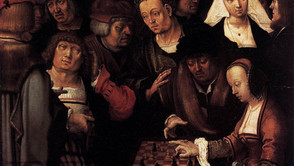 Lucas van Leyden - The Chess Players