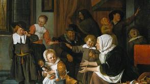 Jan Steen - St. Nicholas Day