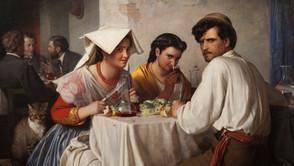 Carl Bloch - In a Roman Osteria