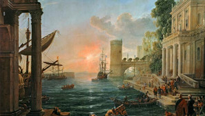 Claude Lorrain - The Embarkation of the Queen of Sheba