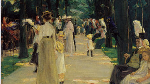 Max Liebermann - The Parrot Alley