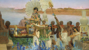 Lawrence Alma-Tadema - The Finding of Moses