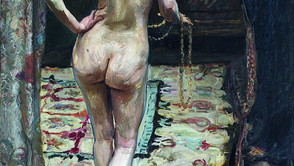 Max Slevogt - Female back nude