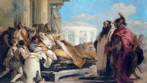 Giambattista Tiepolo - The Death of Dido