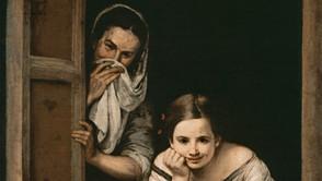 Bartolomé Esteban Murillo - Two Girls at the Window