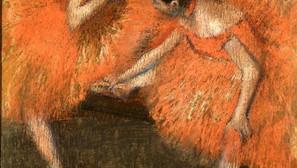 Edgar Degas - Two Dancers
