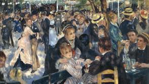 Pierre-Auguste Renoir - Bal du Moulin de la Galette