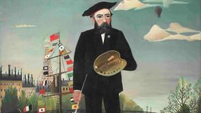 Henri Rousseau - Myself. Portrait Landscape