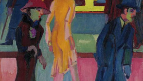Ernst Ludwig Kirchner - In front of the barbershop