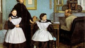 Edgar Degas - The Bellilli Family