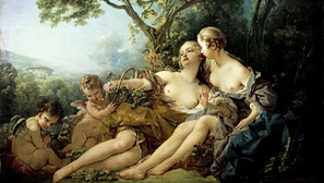 Francois Boucher - Bacchus and Erigone