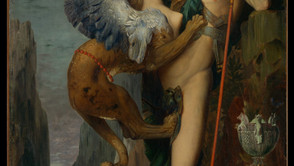 Gustave Moreau - Oedipus and the Sphinx