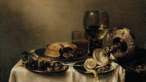 Willem Claesz Heda - A Breakfast of Blackberry Pie