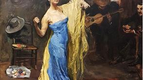 Max Slevogt - Portrait of the dancer Marietta di Rigardo