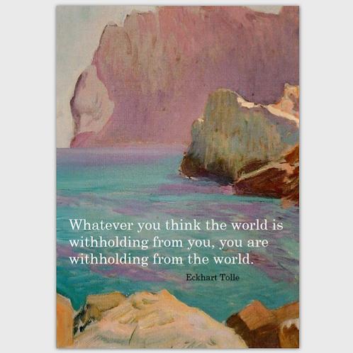 Postkarte Tolle