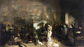 Gustave Courbet - The artist's studio