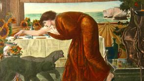 Sir Edward Coley Burne - The Wine of Circe