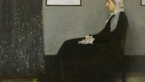 James Whistler - Arrangement in gray and black