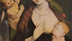 Hans Baldung Grien - Mary with the Parrot