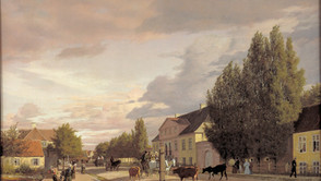 Christen Koebke - A street in Oesterbro