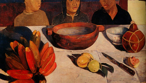 Paul Gauguin - The meal