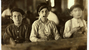 Lewis W. Hine - Young Cigar Makers