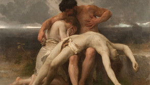 William-Adolphe Bouguereau - The first mourning