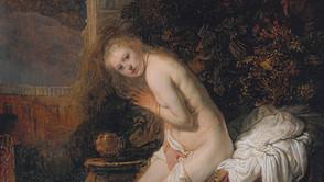 Rembrandt - Susanna in the Bath
