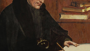Quentin Massys - Erasmus of Rotterdam