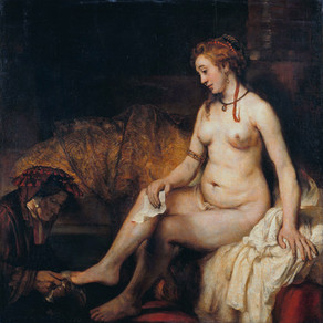 Rembrandt - Bathseba mit König Davids Brief
