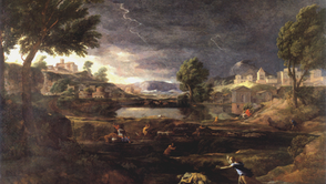 Nicolas Poussin - Landscape with Pyramus and Thisbe