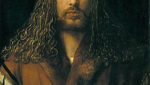 Albrecht Dürer - Self-portrait with fur-trimmed rope
