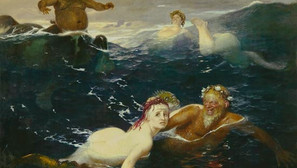 Arnold Böcklin - Play of the waves