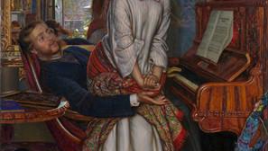William Holman Hunt - The Awakening Conscience