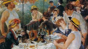 Pierre-Auguste Renoir - Breakfast of the rowers