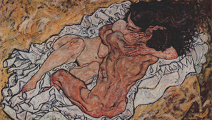 Egon Schiele - The Embrace