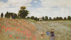 Claude Monet - The Poppy Field near Argenteuil
