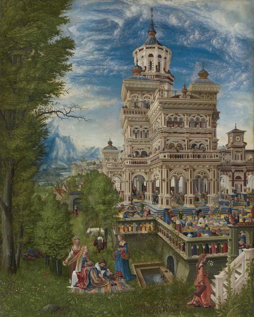 Albrecht Altdorfer - Susanna im Bade Öl auf Holz, 1526, 74,8 cm × 61,2 cm, Alte Pinakothek, Munich, Germany