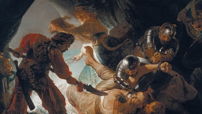 Rembrandt - The Blinding of Simson