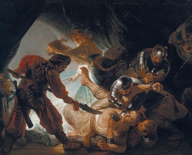 Rembrandt - Simson