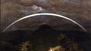Caspar David Friedrich - Mountain Landscape with Rainbow