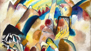 Wassily Kandinsky - Landscape with Red Spots, No. 2