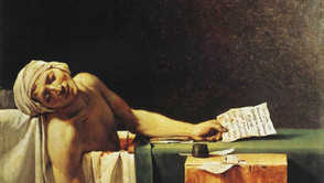 Jacques Louis David - The Death of Marat