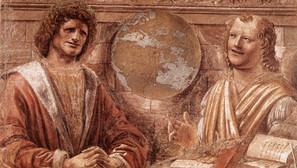 Donato Bramante - Heraclitus and Democritus