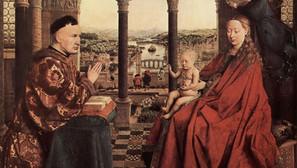 Jan van Eyck - The Madonna of Chancellor Rolin